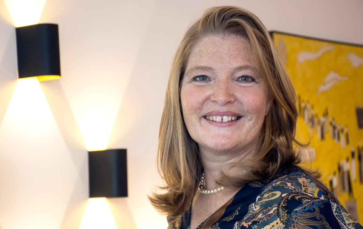 Portrait der Augenärztin Dr. Annette Brusis aus Heppenheim an der Bergstraße